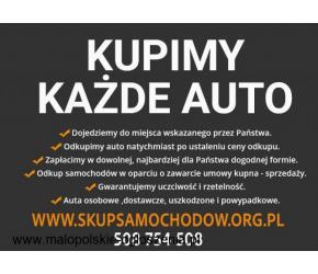 Skup samochodów za gotówkę Śląsk Opolskie Małopolska - Najlepszy Ceny